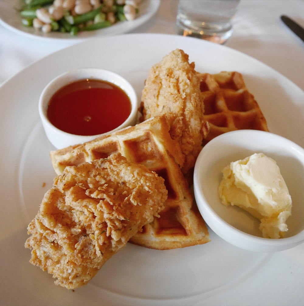 Chicken & Waffles, Crossroads Kitchen, Los Angeles
