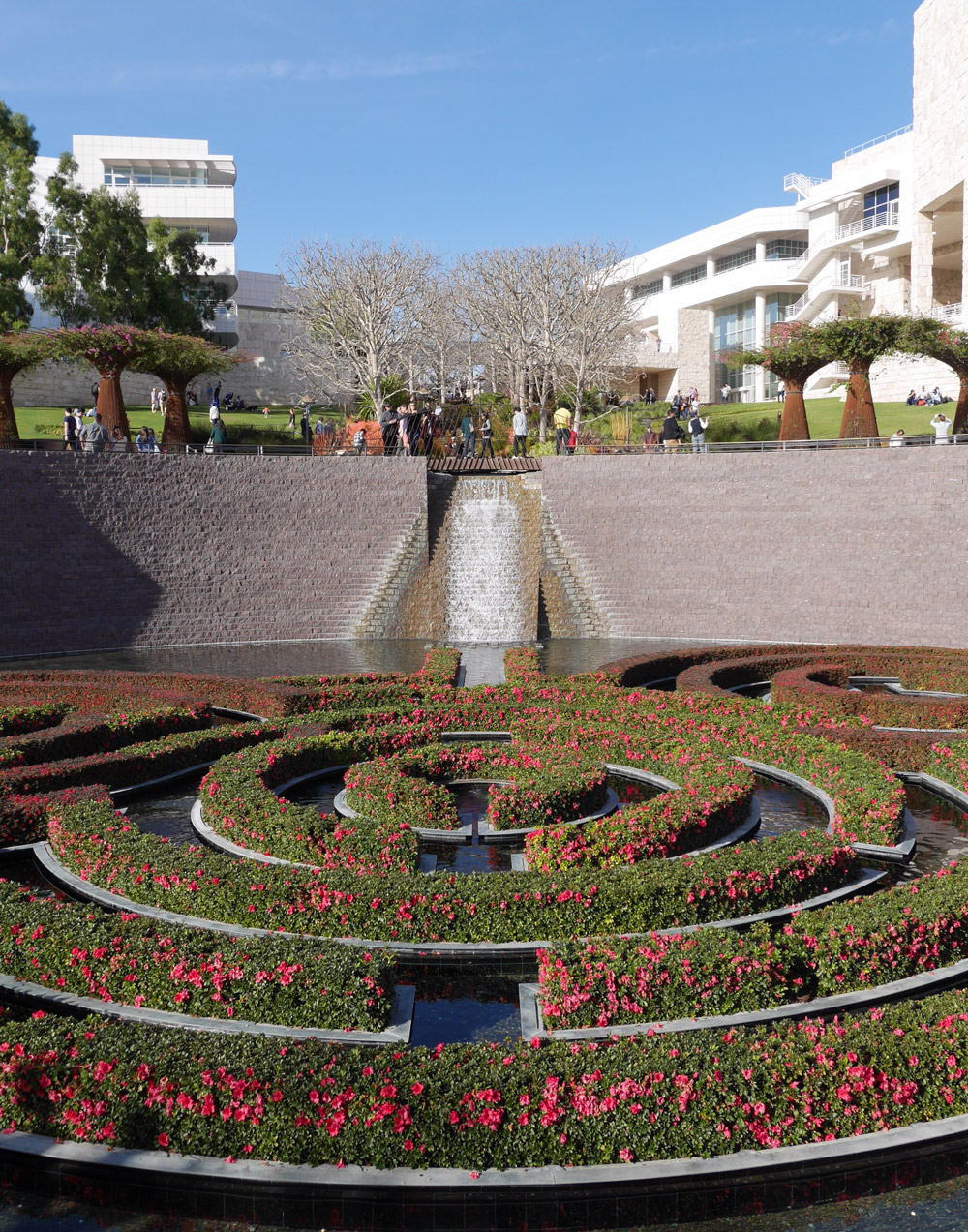 Gardens at the Getty Museum, Los Angeles