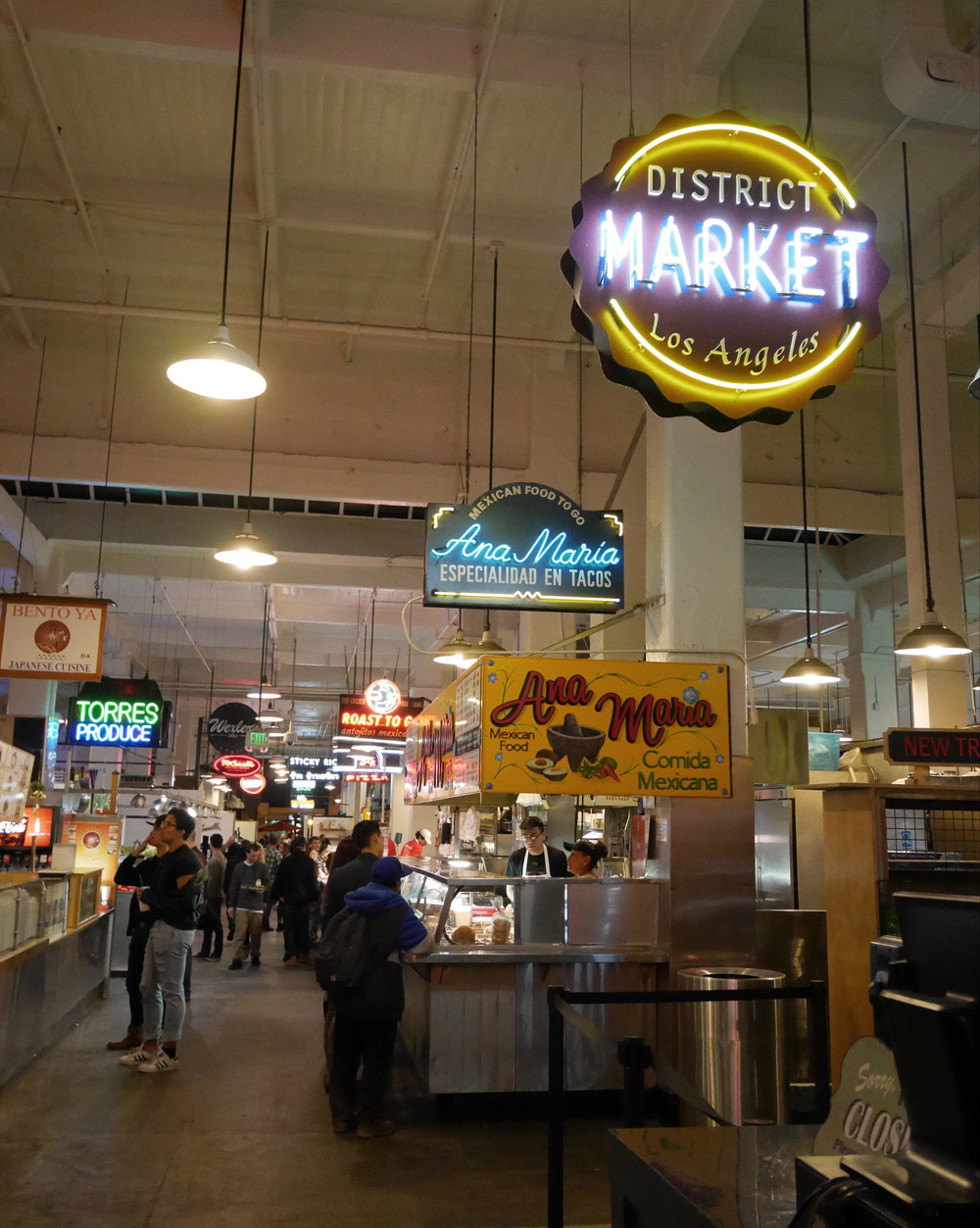 Grand Central Market, Downtown Los Angeles