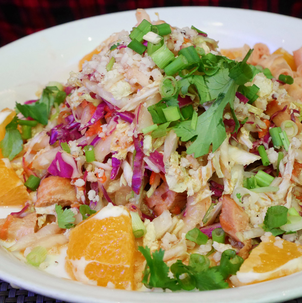 Chinoise Salad, Au Lac, Downtown Los Angeles
