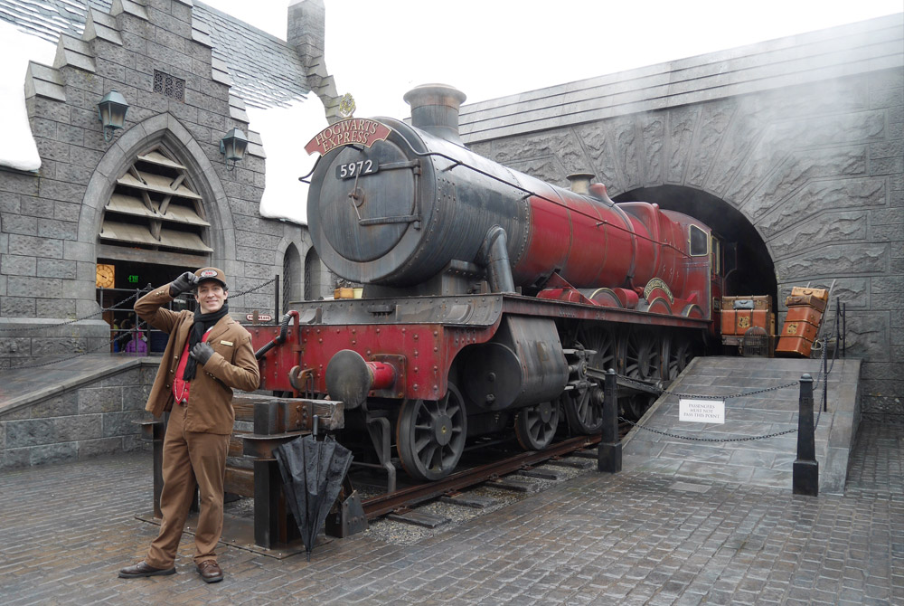 Hogwarts Express, The Wizarding World of Harry Potter, Universal Studios Hollywood