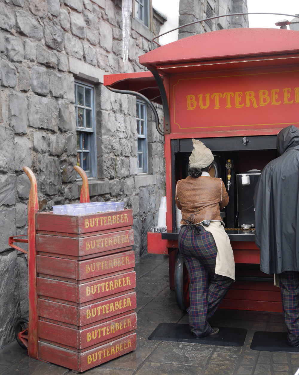 Butterbeer, The Wizarding World of Harry Potter, Universal Studios Hollywood