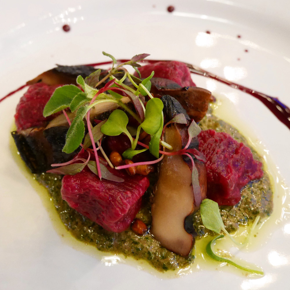 Beet Gnocchi, Harvest at the Bindery, Portland Dining Month