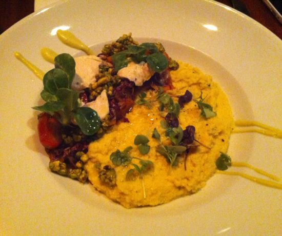 Pure Food & Wine - Cauliflower & Sweet Corn Polenta