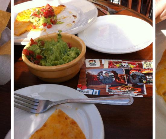 Cabo Wabo Cantina - Cheese Crisp, Guacamole