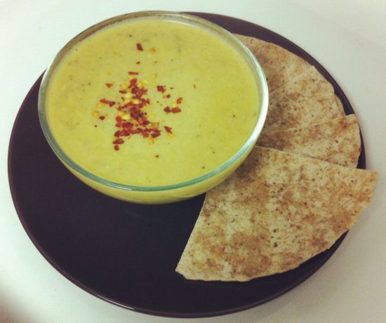 Curry Coconut Cream of Celery Soup