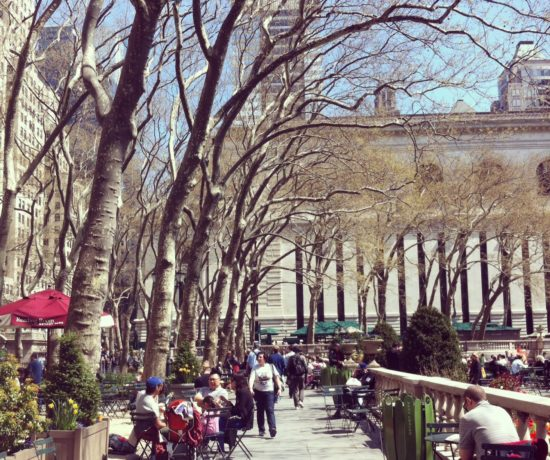Bryant Park, Manhattan, NYC