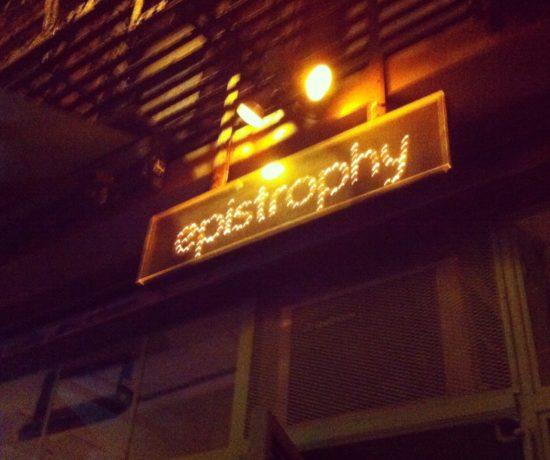 Epistrophy Cafe, Nolita