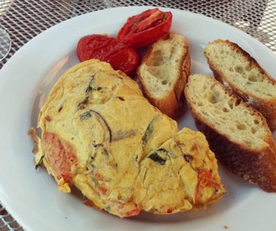 Italiano Omelet - Skylark on the Hudson