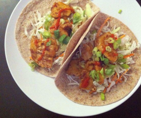 Gardein Mandarin Orange Chicken Tacos