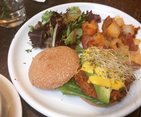 Veggie Burger, Gust Organics