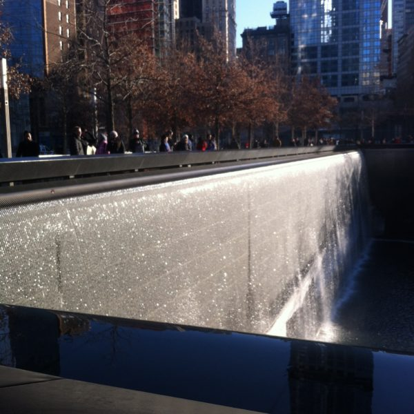911 Memorial Fountains, NYC