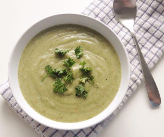Vegan Parsley Potato Soup