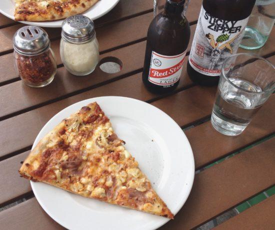 Harissa Pizza, Nick & Aron's, Oakland
