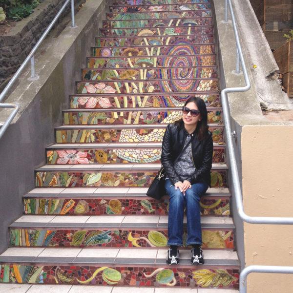 Hidden Garden Steps, San Francisco