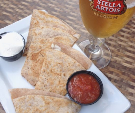 Cheese Quesadilla, Wicked Wolf Tavern