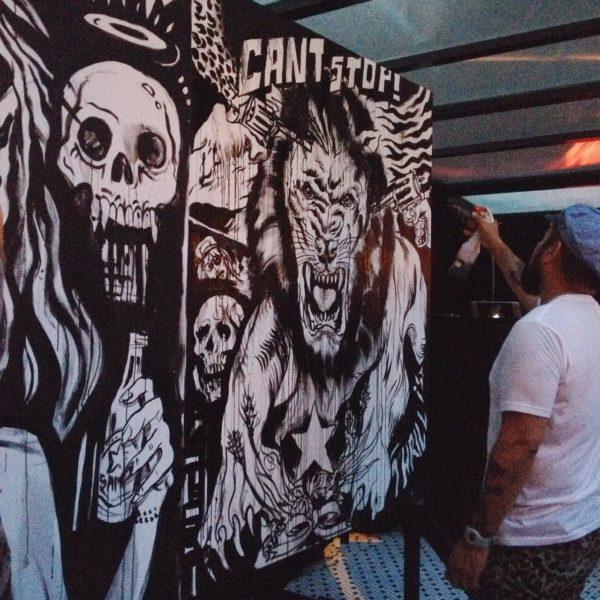 Thrillist & Sapporo Art Battle Event