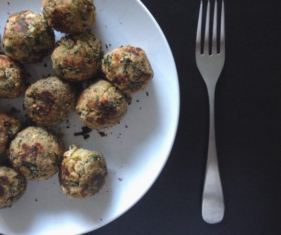 Carrot Greens & Scallions Meatballs