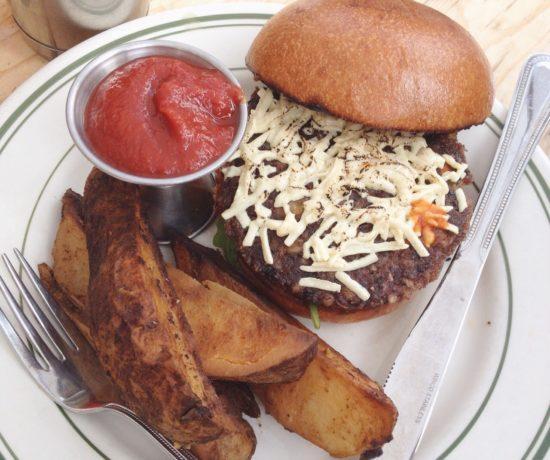 Black Bean Burger, The Butcher's Daughter