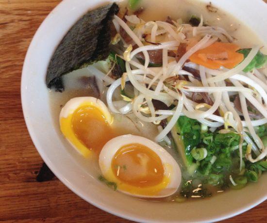 Vegetable Ramen, Daikaya Izakaya Ramen