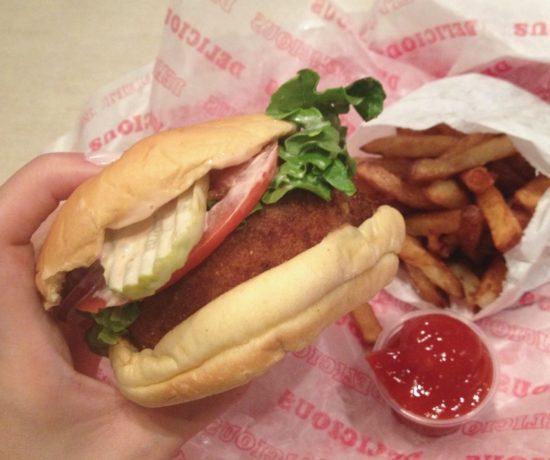 Shroom Burger, Good Stuff Eatery