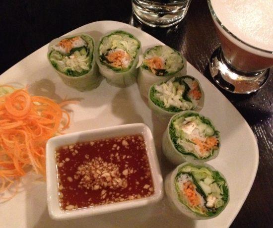 Garden Roll, Citrus Cosmo, Sala Thai