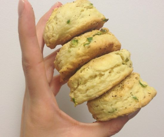Vegan Jalapeno Mini Biscuits
