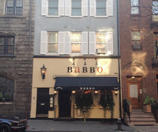 Babbo, Greenwich Village