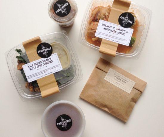 Provenance Meals, Vegetarian Vegan Paleo Meal Delivery