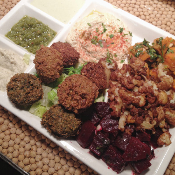 Mediterranean Platter, Nish Nush