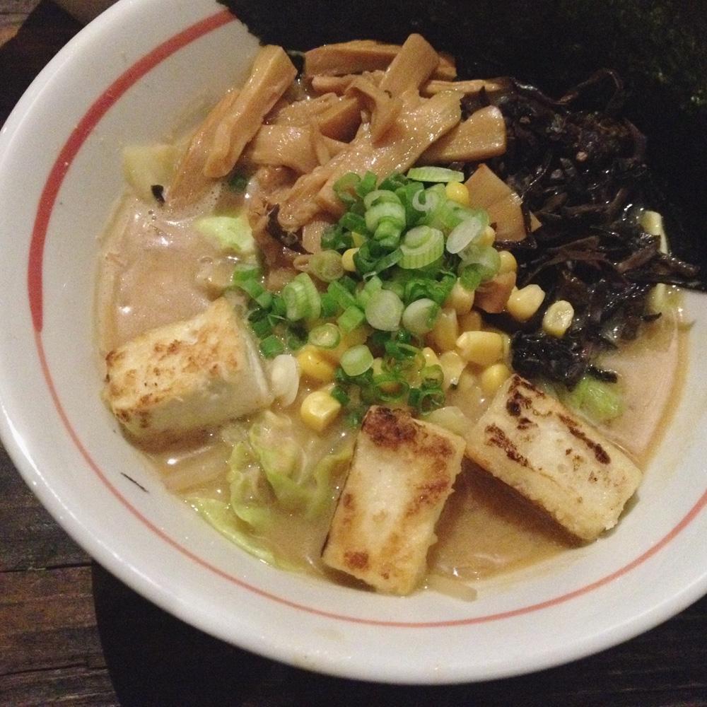 Vegetarian Miso Ramen, Kopi Ramen