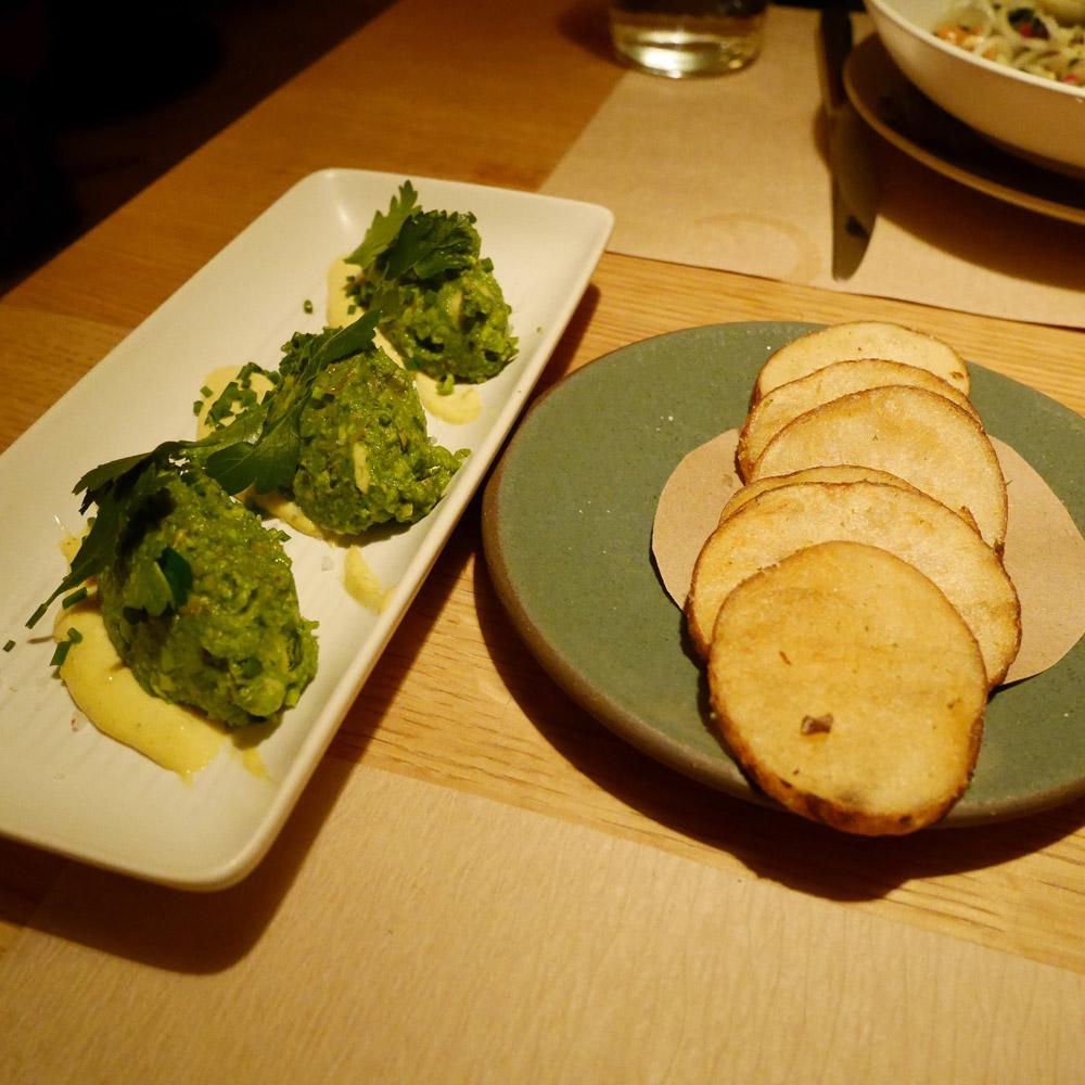 Grilled Avocado, Little Park, Tribeca