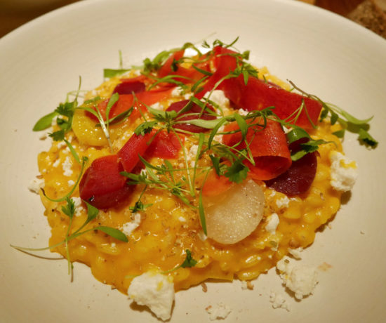 Carrot Risotto, Little Park, Tribeca