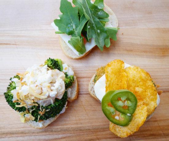 Caprese, Zucchini Parm, Broccoli Classic Sub, No 7 Sub