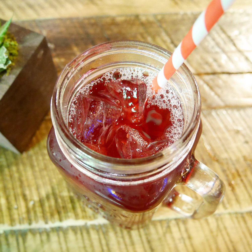 Hibiscus Iced Tea, Genji Izakaya