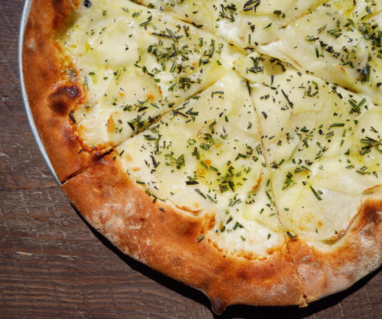 Potato & Rosemary Pizza, Via Vai
