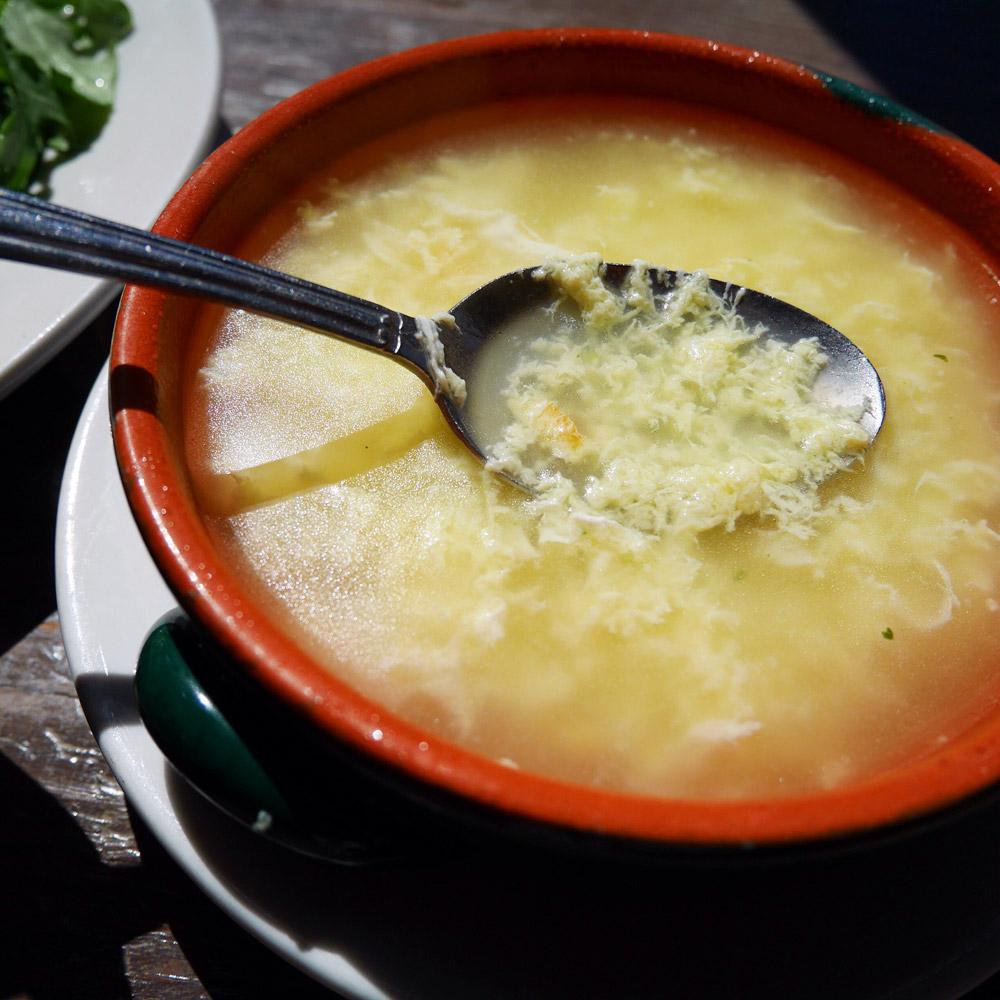 Stracciatella Soup, Via Vai