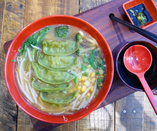 Vegetarian Miso Ramen, The Graffiti Room
