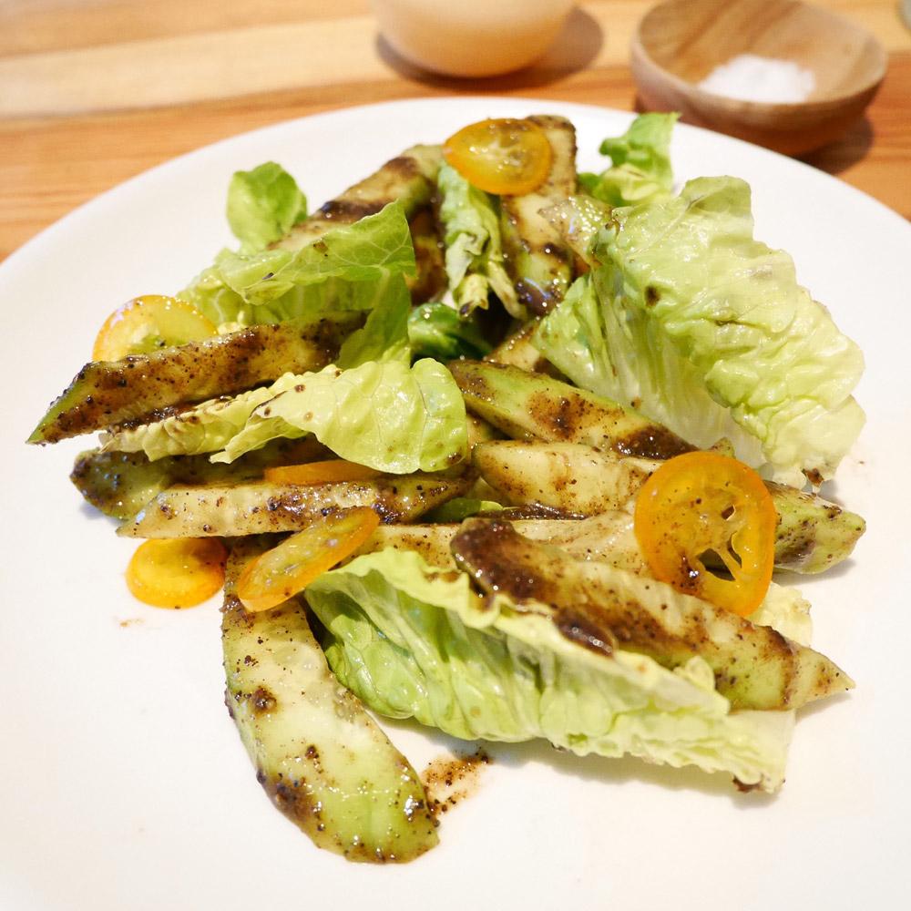 Wok Roasted Persian Cucumbers, Nix