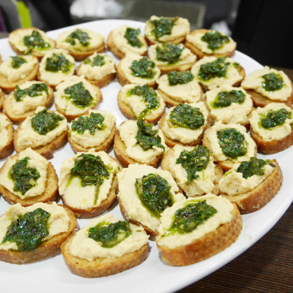 NYC Vegetarian Food Festival Launch Party, Vegan Food by ICE