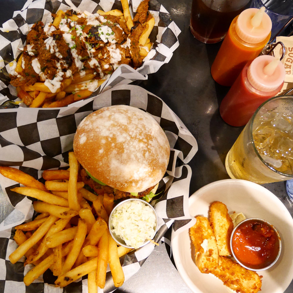Champ's Diner, Vegan Diner, East Williamsburg, Brooklyn