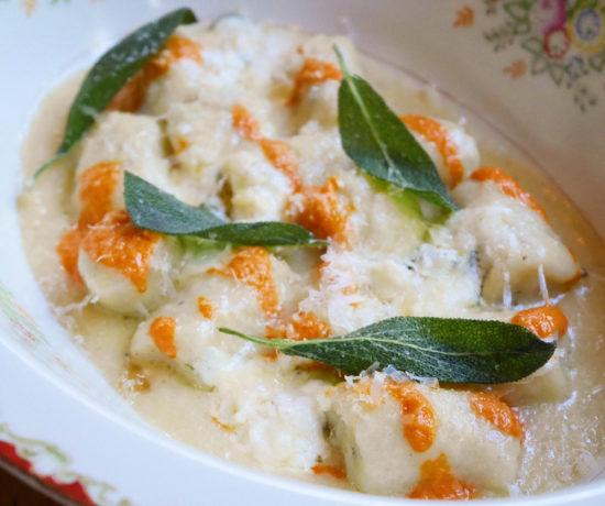 Fresh Sage Gnocchi, The Hairy Lobster