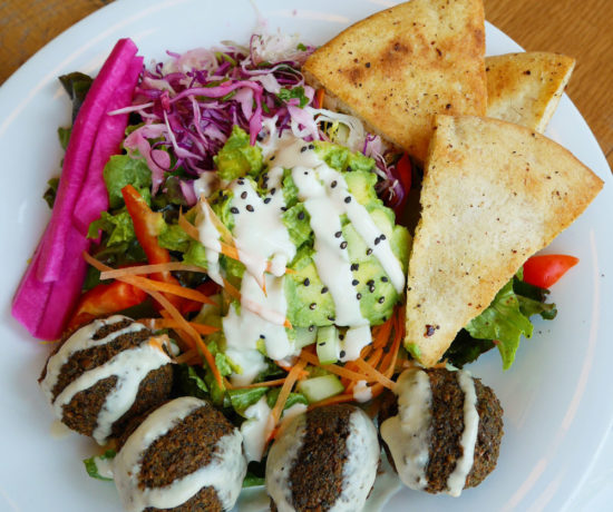 Falafel Salad, B52 Cafe, Pittsburgh