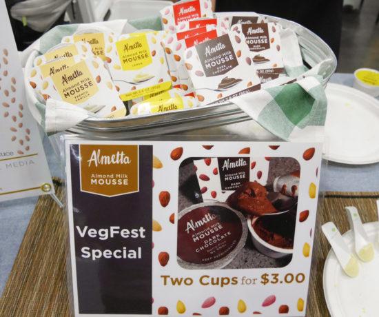 Almetta Almond Milk Mousse, Portland VegFest