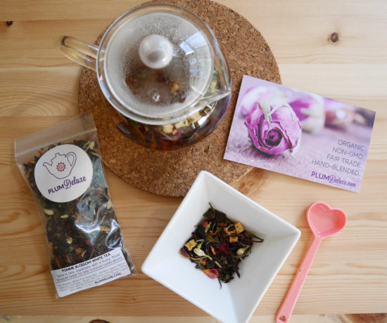 Plum Deluxe Organic, Fair Trade Tea Blends