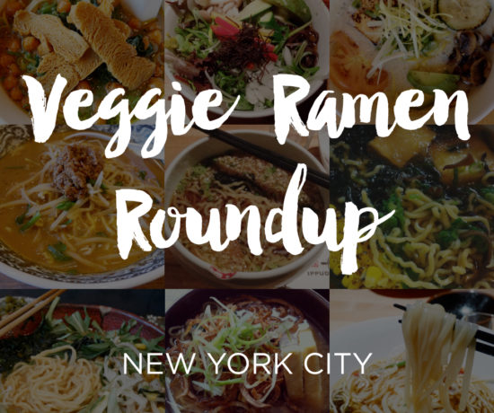Vegetarian & Vegan Ramen Roundup, New York City