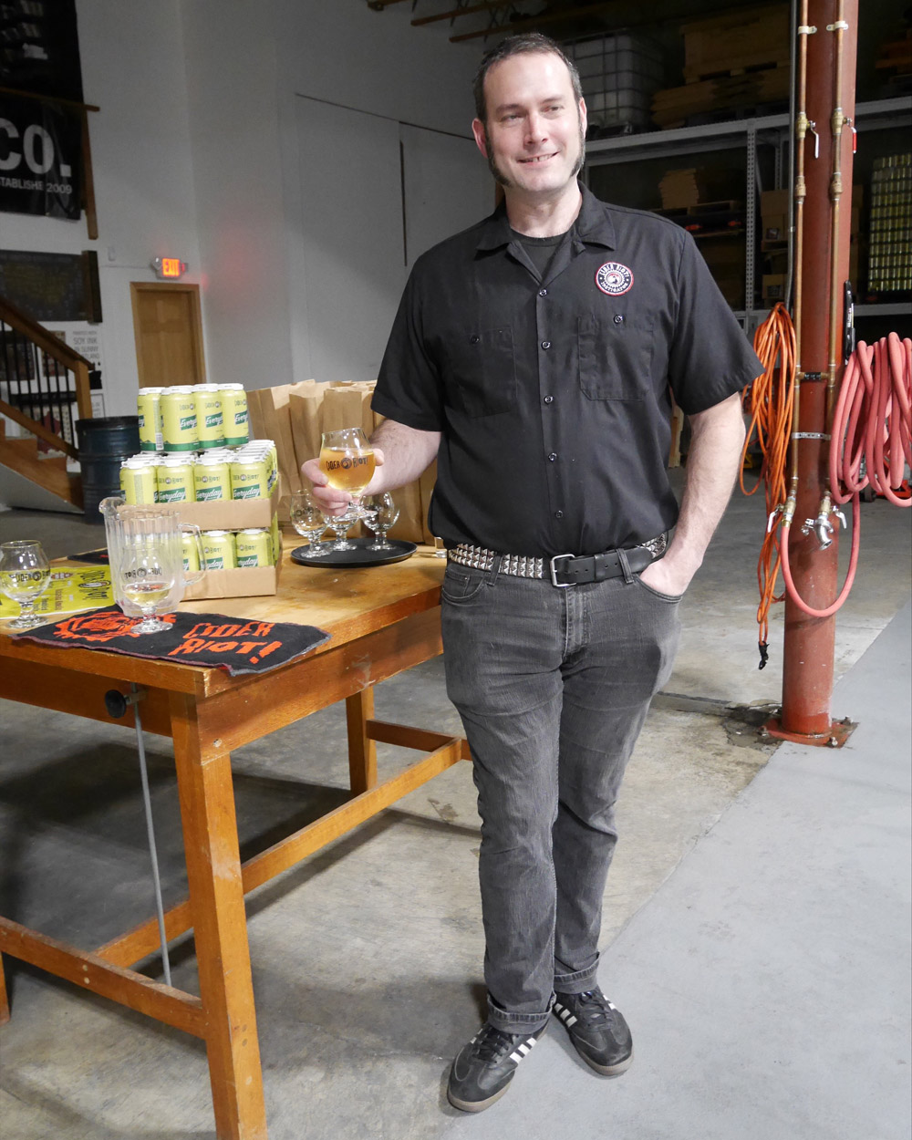 Cider Riot! Founder Abram Goldman-Armstrong