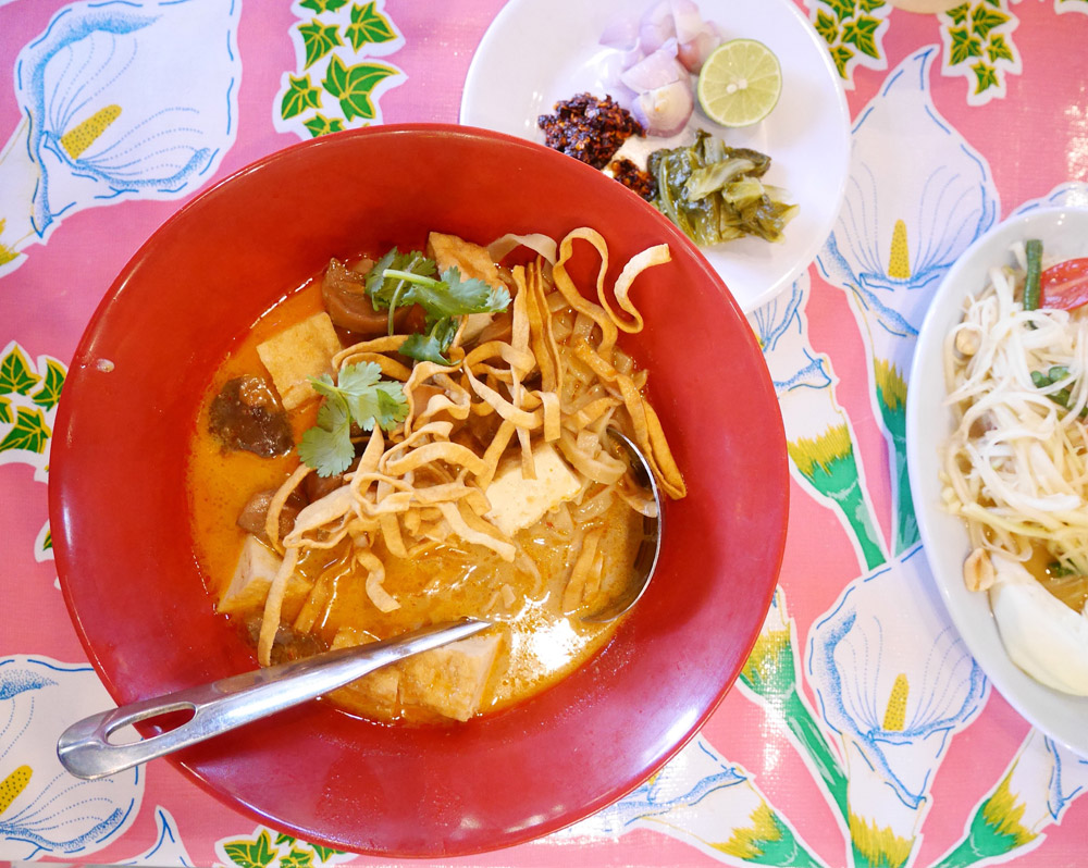 Vegan Khao Soy with Tofu, Pok Pok Northwest Portland
