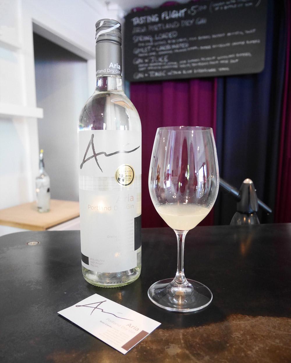 Aria Gin Award Winning Dry English Gin, Portland