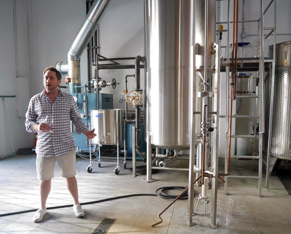 Tour of the Aria Gin Distillery, Portland, Oregon